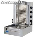 Electric gyros with 4 heating elements - mod. ge3 - n.4 cooking zones - meat