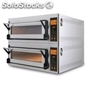 Electric oven for pizza, bread and cakes-mod. us 66 d-electronic control with