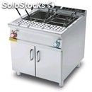 Electric pasta cooker - mod. cpb/98et - n. 1 tank lt 80 - three phase -