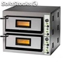 Electric pizza oven mod. fme 9+9 - manual control panel - single phase/three