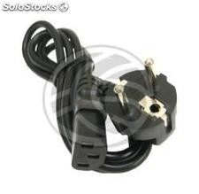 Electric power cord IEC60320 C13 female to Schuko male 1 m (FA80-0002)