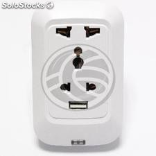 Electrical outlet for WiFi USB Socket with universal 220VAC 10A (LA63)