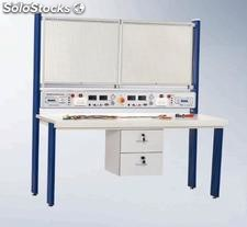 Electrical technology know-how training set for techniacal schools - DL-ETBE12D730