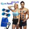 Electroestimulador muscular gym form ab swift con mando distancia