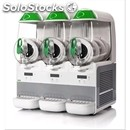 Electronic slush machine-mod. b frozen 6.3-# 3 bowls-# 1 compressor-6 + 6 + 6 lt