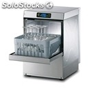 Electronic stainless steel glass washer - mod. pl25e - single phase supply -
