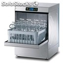 Electronic stainless steel glass washer - mod. pl29e - single phase supply -