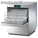 Electronic stainless steel glass washer - mod. sm45e - single phase supply -