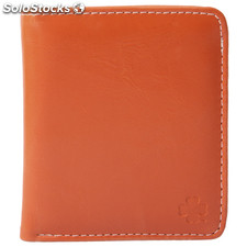 Elegante de cuero del bolso de embrague Monedero Billetera Monedero Burse