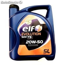 Elf evolution 500 ts 20W-50 5 lt