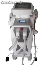 Elight ipl rf+nd yag Laser Multifunction Machine, depilacion,