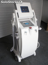 Elight, rf, nd yag Laser y cavitation maquina multifuncional