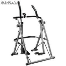 Elíptica bicicleta cross trainer academia air walker