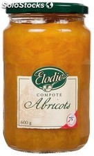Elodie compote d abricots 600G
