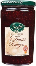 Elodie confiture 4 fruits 750G