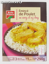 Emince poulet curry 290BF