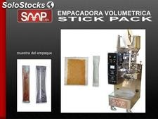 Empacadora sachet - stick pack