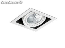 Empotrable mini Colin-1 blanco led he 24w 3000k 56º