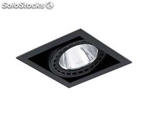 Empotrable mini Colin-1 negro led food 24w fish 56º