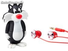 Emtec MP3 Player 8GB - Looney Tunes Serie (Sylvester)