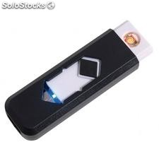 "Encendedor USB ""Fire up"" , negro"