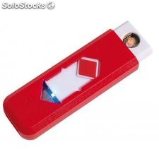 "Encendedor USB ""Fire up"" , rojo"