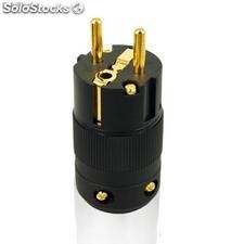 Enchufe de audio(chapar oro de 24k)wp-580p