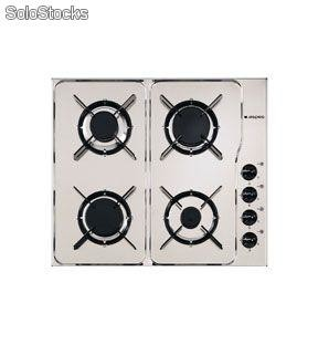 Cocina Aspes | Encimera Aspes Inox Gas Butano 2ai4gx But 4 Gas 4 Parrillas