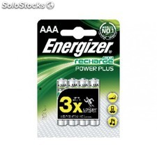 Energizer blister 4 pilas recambios HR03 AAA 850MA 635207