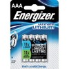 Energizer pilas litio pack 4 ud. aaa lr03 635233