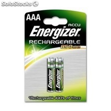 Energizer - Rechargeable AAA 2 - pk Níquel-metal hidruro (NiMH) 850mAh 1.2V