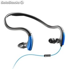 Energy Auriculares+Micro Running Two Neon Azul