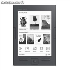 "Energy Sistem ebook eReader Slim HD 6"" Negro+LPI"