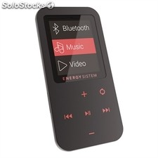 Energy Sistem MP4 Touch BLuetooth 8GB Negro/Coral