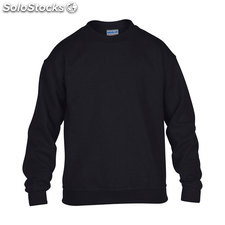 Enfants Sweat-shirt 255/270 GI180B-bk-xs, Noir