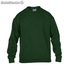 Enfants Sweat-shirt 255/270 GI180B-FG-XS, Forêt verte