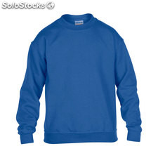 Enfants Sweat-shirt 255/270g GI180B-lr-l, Royal
