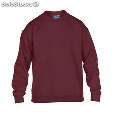 Enfants Sweat-shirt 255/270g GI180B-MR-S, Bordeaux