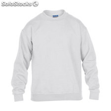 Enfants Sweat-shirt 255/270g GI180B-WH-M, blanc