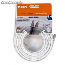 Engel Axil - CA0712E 10m Color blanco cable coaxial