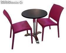 Ensemble de 2 chaises ou 4 chaises + table, conjunto 16 of16