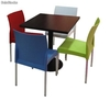 Ensemble de 2 chaises ou 4 chaises + table, conjunto 18 of18