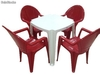 Ensemble de 2 ou 4 chaise + table, conjunto 10 of10