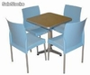 Ensemble de 4 chaises + table, conjunto 6 of6
