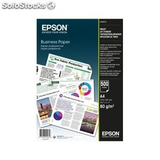 Epson - Business Paper 80gsm 500 shts A4 (210 297 mm) Color blanco papel para
