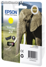 Epson Cartucho amarillo Claria Photo HD T 242 T 2424