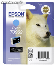 Epson Cartucho cian UltraChrome K 3 T 0962