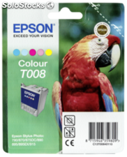 Epson Cartucho color T 008