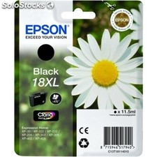 Epson cartucho negro 18XL claria home pack 1 expression home xp-´102´205´305´405