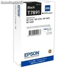 Epson Cartucho Negro xxl 4000 paginas WorkForce Pro wf-5xxx Series